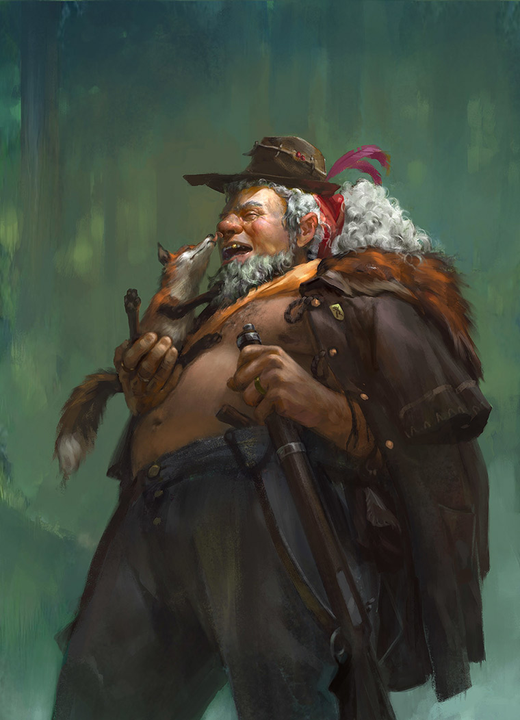 Fascinating characters by Tomas Duchek - 8