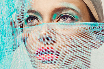 Deconstructed : a series of beautiful portraits by Elena Iv-skaya