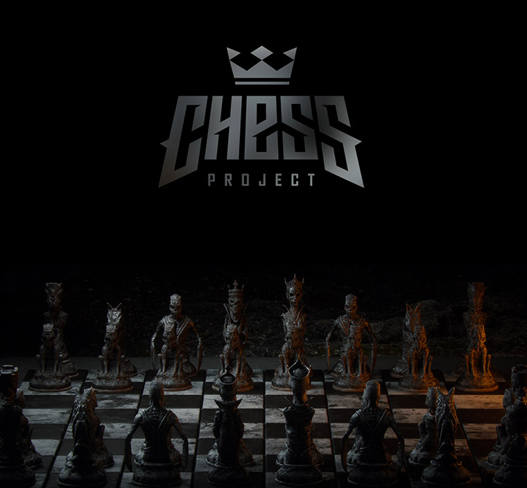 Mind-blowing 3D chess game by Wojciech Magierski - 1