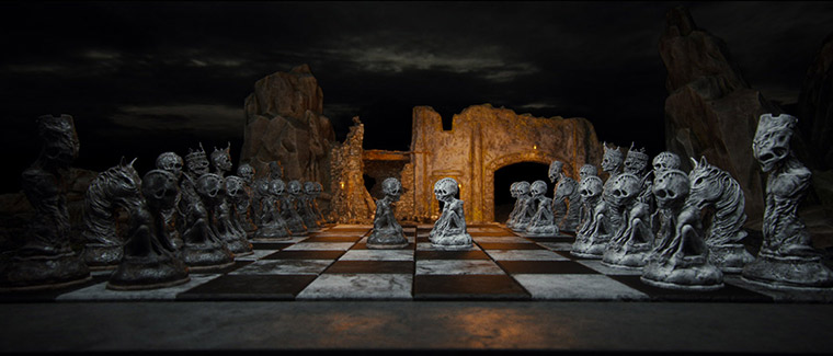 Mind-blowing 3D chess game by Wojciech Magierski - 11