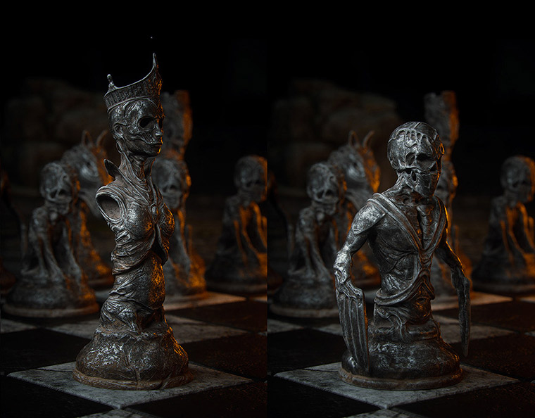 Mind-blowing 3D chess game by Wojciech Magierski - 13