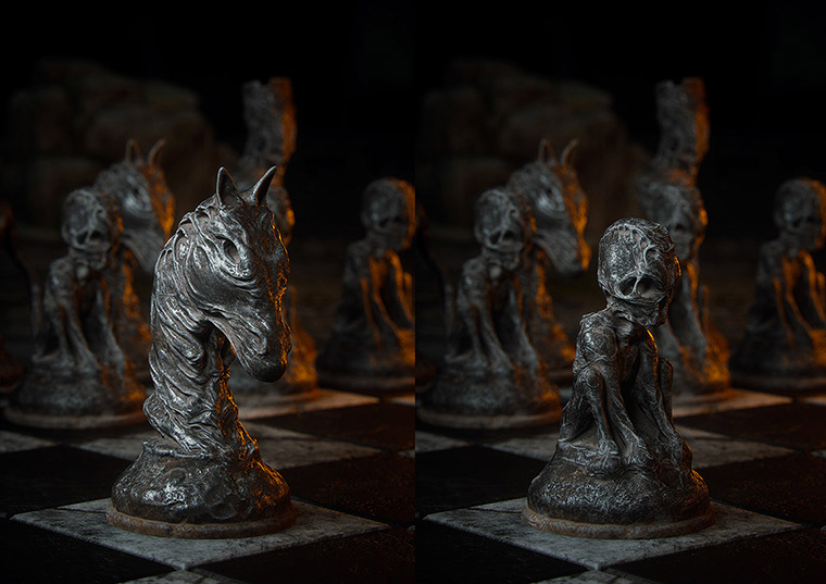Mind-blowing 3D chess game by Wojciech Magierski - 14