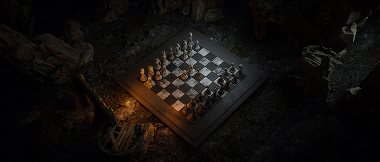 Mind-blowing 3D chess game by Wojciech Magierski - 8