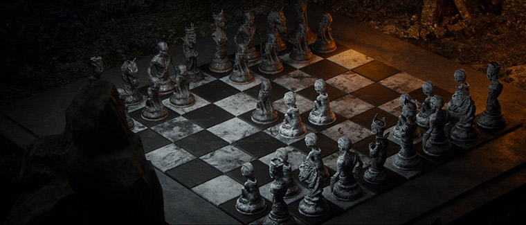 Mind-blowing 3D chess game by Wojciech Magierski - 9