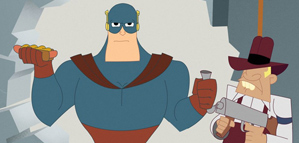 Short Animation Film #61 : Captain Awesome