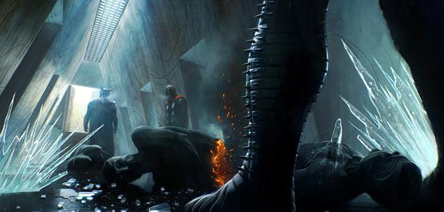 Les artworks de Thor par Michael Kutsche