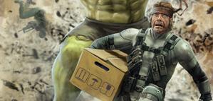 Hokunin – Solid Snake VS Hulk