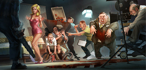 Les illustrations de Michal Lisowski