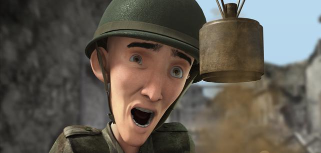 Short Animation Film #55 : Dans la tête
