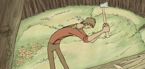 Short Animation Film #130 : Lumberjack