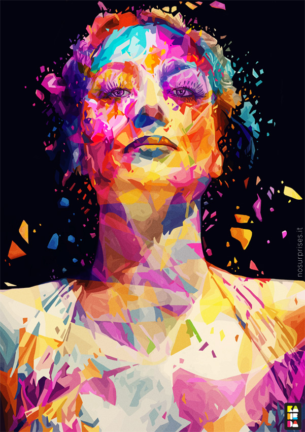 Amazing Colorful Portraits By Alessandro Pautasso