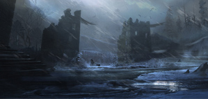 A Game of Thrones the RPG, artworks by Cyril Tahmassebi