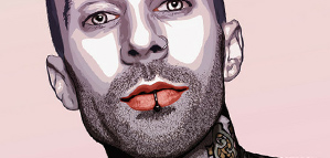 Juan David Gomez – Travis Barker Illustration