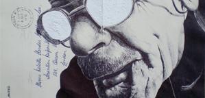 L'art du dessin au Bic et sur enveloppes de Mark Powell