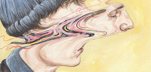 "The original ""Hold Still"" illustrations by Henrietta Harris"