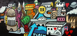 L'art du graffiti selon Grems