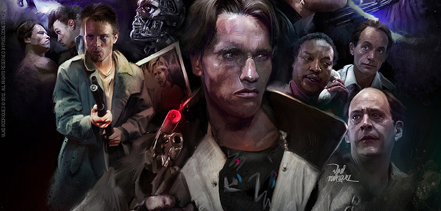 Insane movies illustrations by Vlad Rodriguez