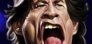 Budi Kurniawan – Mick Jagger