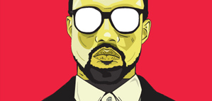 Matt Anderson – Kanye West Portrait