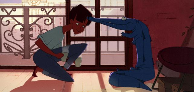 Short Animation Film #133 : In Between