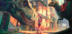 Marta de Andrés – Dinotopia Tribute