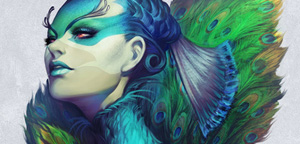 Artgerm – Peacock Queen