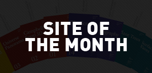 Site of the Month : Janvier 2013