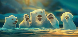 Short Animation Film #151 : Coca-Cola Polar Bears