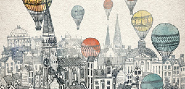 David Fleck – Voyages over Edinburgh