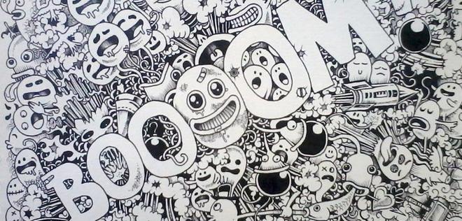 Les superbes illustrations sur Moleskine de Kerby Rosanes