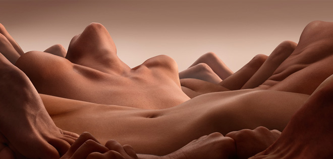 Les fascinants bodyscapes de Carl Warner