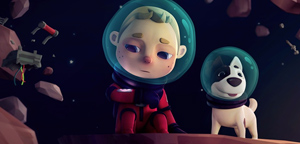 Short Animation Film #165 : Spacebound