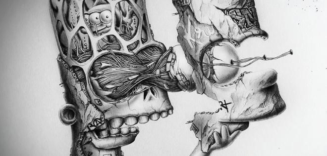 Les fabuleux dessins «Distroy» de PEZ