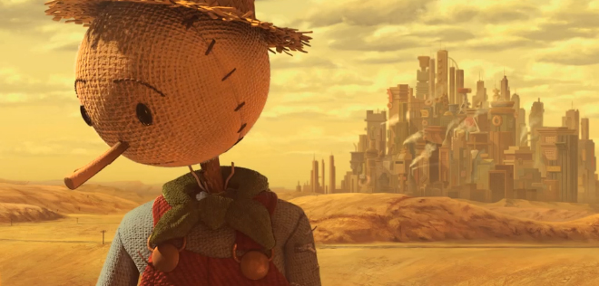 Short Animation Film #186 : The Scarecrow