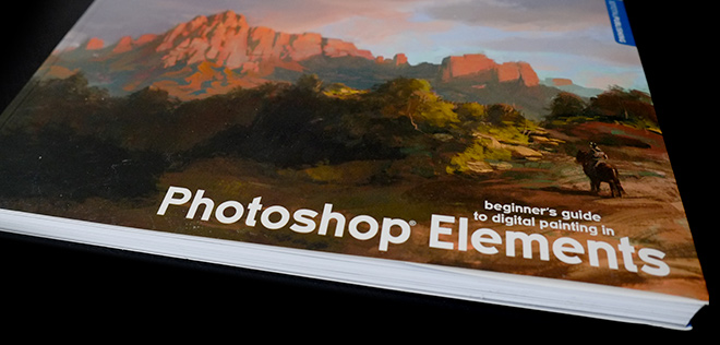 Book : Beginner's Guide to Digital Paintings in Photoshop Elements