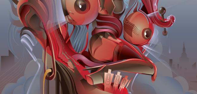 Les fabuleuses oeuvres vectorielles de Orlando Arocena