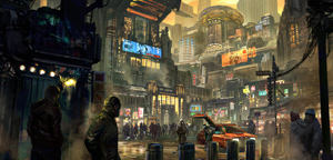 Lee Yong Yi – Polluted Sci-Fi Environment