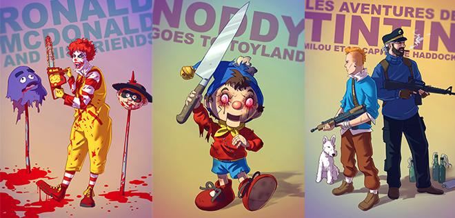 Les héros BADASS de Sylvain Sarrailh