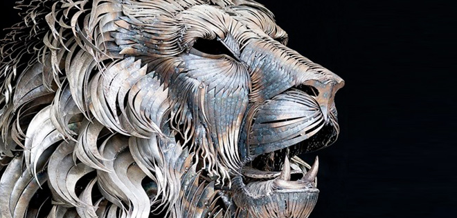 L'incroyable sculpture de lion de Selçuk Yilmaz