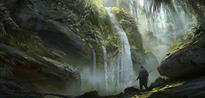 Beautiful concept art by Waqas Malik