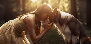Les sublimes photos de chiens de Ksenia Raykova