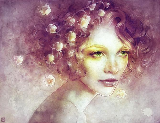 mind blowing portraits by anna dittmann art spire