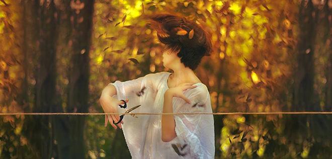Les fantastiques photographies de Reylia Slaby
