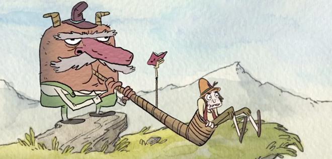 Short Animation Film #217 : Hoof It