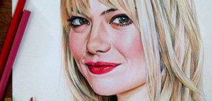 Jerameel Lu – Emma Stone as Gwen Stacy in Spider-Man 2