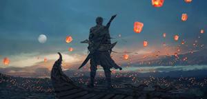 Wang Ling – Sky Lanterns