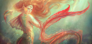 MartaNael – Mermaid and her alter ego fish