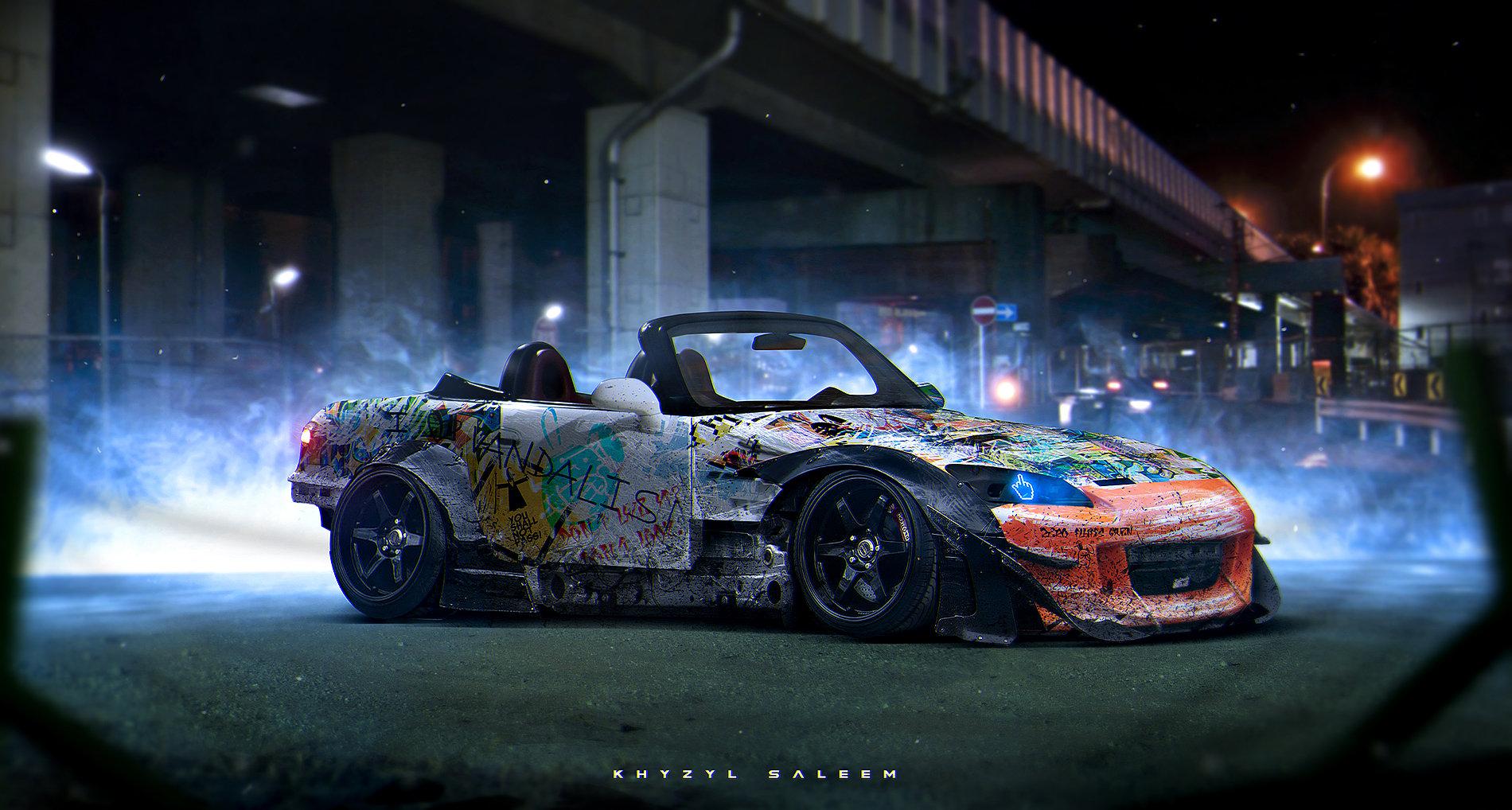 Insane cars designs by Khyzyl Saleem | Art-Spire