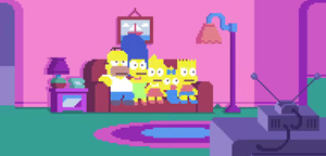 Simpsons Pixel