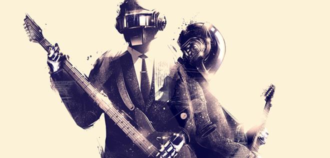 Marie Bergeron – Daft Punk